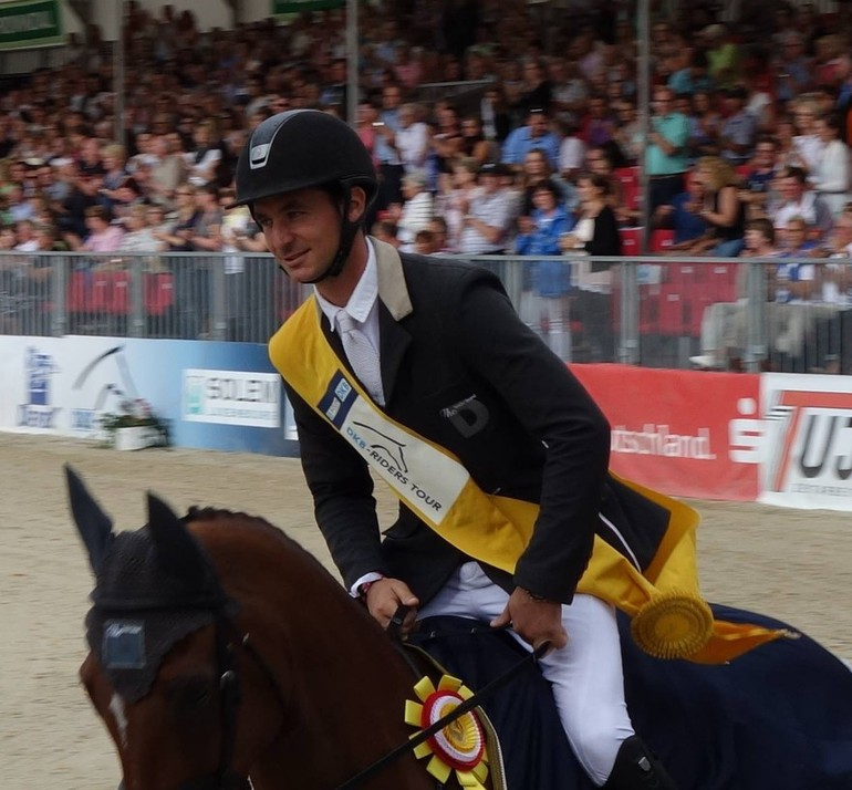 Steve and Nino win the Grand Prix of Münster!  (C) Copyright ClipMyHorse