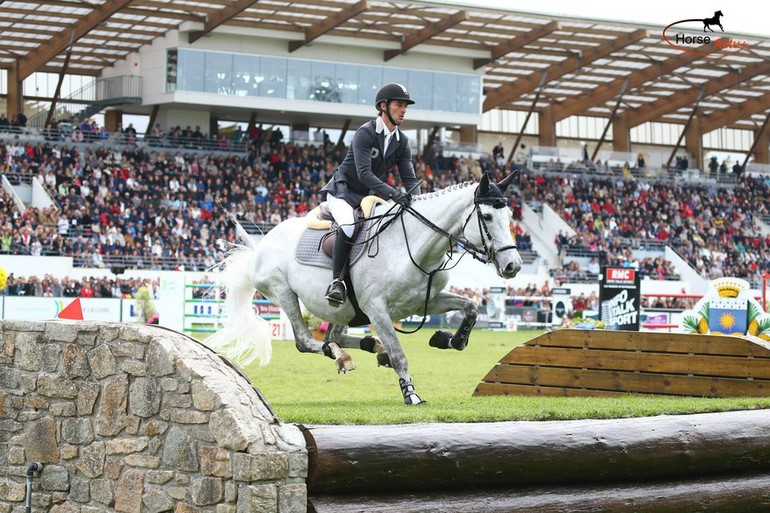 Steve & Nasa during the Derby of the CSIO of La Baule - (C) Photo : Alleaume Gilles / Horse-actu.fr