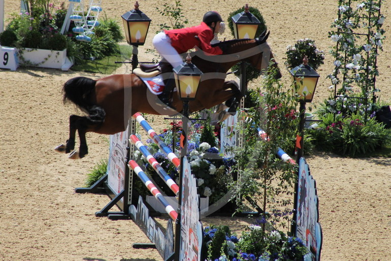 Steve Guerdat & Nino des Buissonnets - London Olympics - Team competition