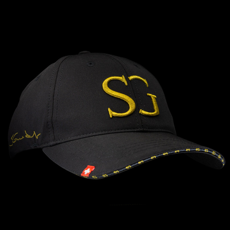 "Casquette officielle SG ""or"""