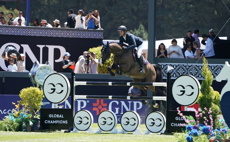 CSI5* Mexico City - Steve & Alamo - Copyright (c) Sportfot