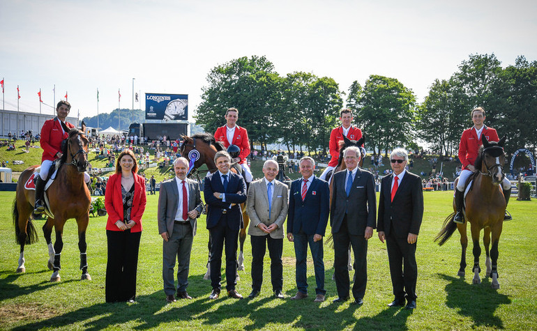 CSIO St. Gallen: Switzerland in second place in the Nations Cup