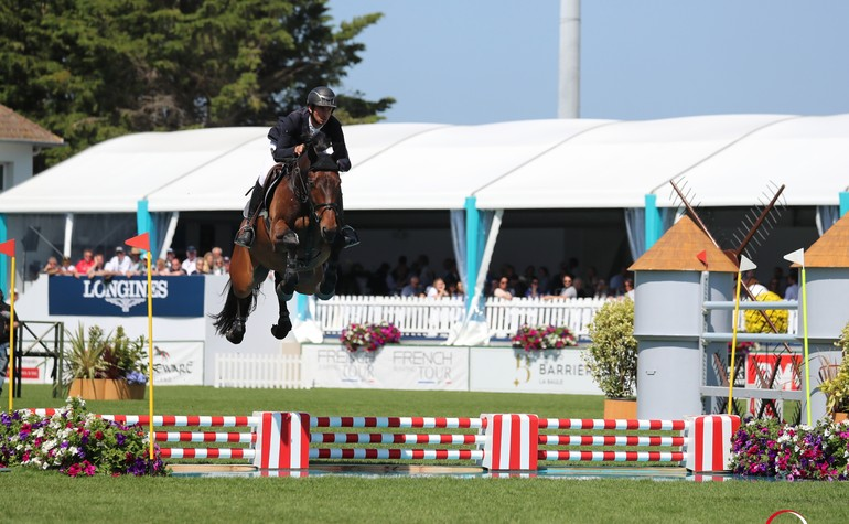 Steve and Hannah 7th in the GP of Falsterbo