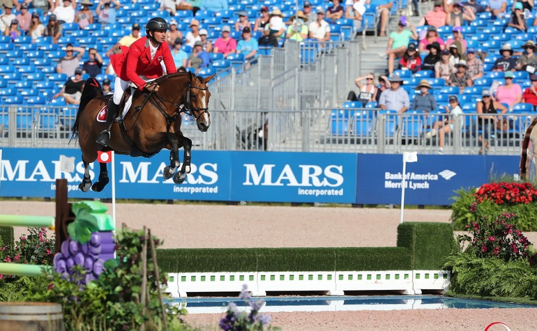Dreamy start for Steve Guerdat and the Swiss team at the World Equestrian Games in Tryon
