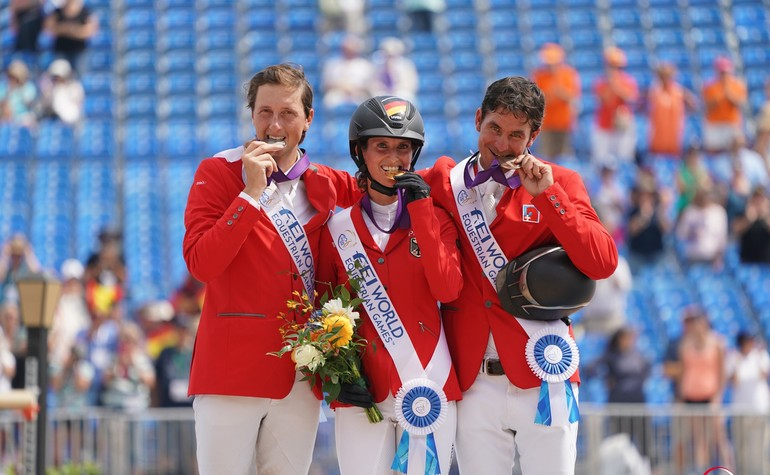 World Equestrian Games in Tryon: Simone Blum and two Swiss on the podium - that's historic!
