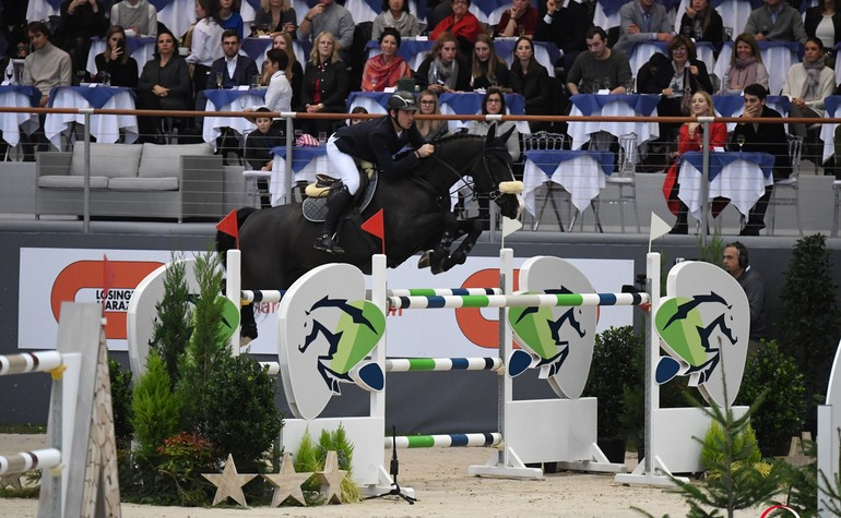 Alamo takes the 4th place at the Grand Prix Hermès CSI5* this weekend in Paris!