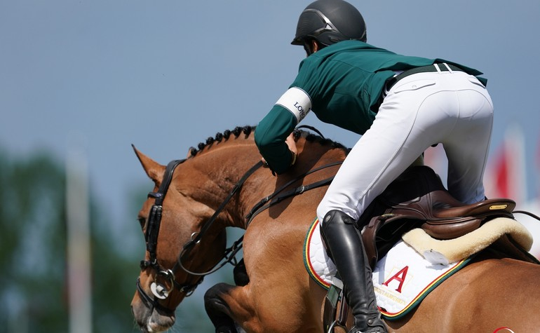 CSI3* Dettighofen : A weekend for Steve and his young horses at Hofgut Albführen