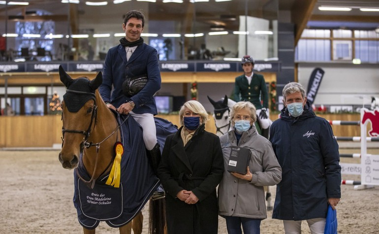 CSI3* Riesenbeck (GER): A beautiful victory for Steve and Uranie de Belcour