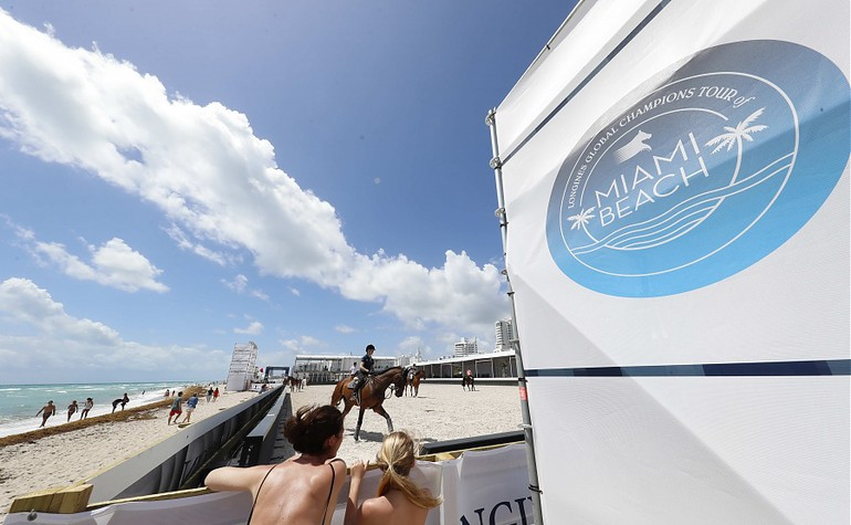 Un week-end sur la plage de Miami