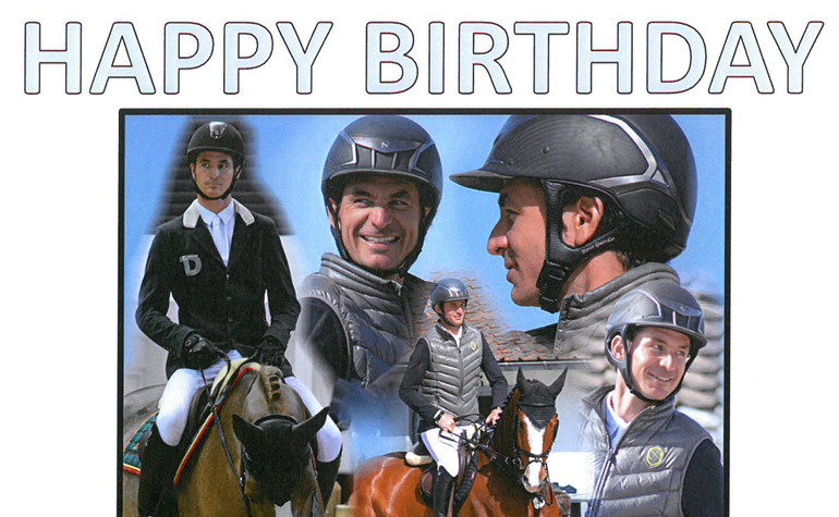 Steve Guerdat celebrates his 35th birthday on horseback