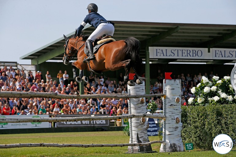 CSIO5* Falsterbo - Evita 2ème du fameux Derby (C) World of show jumping