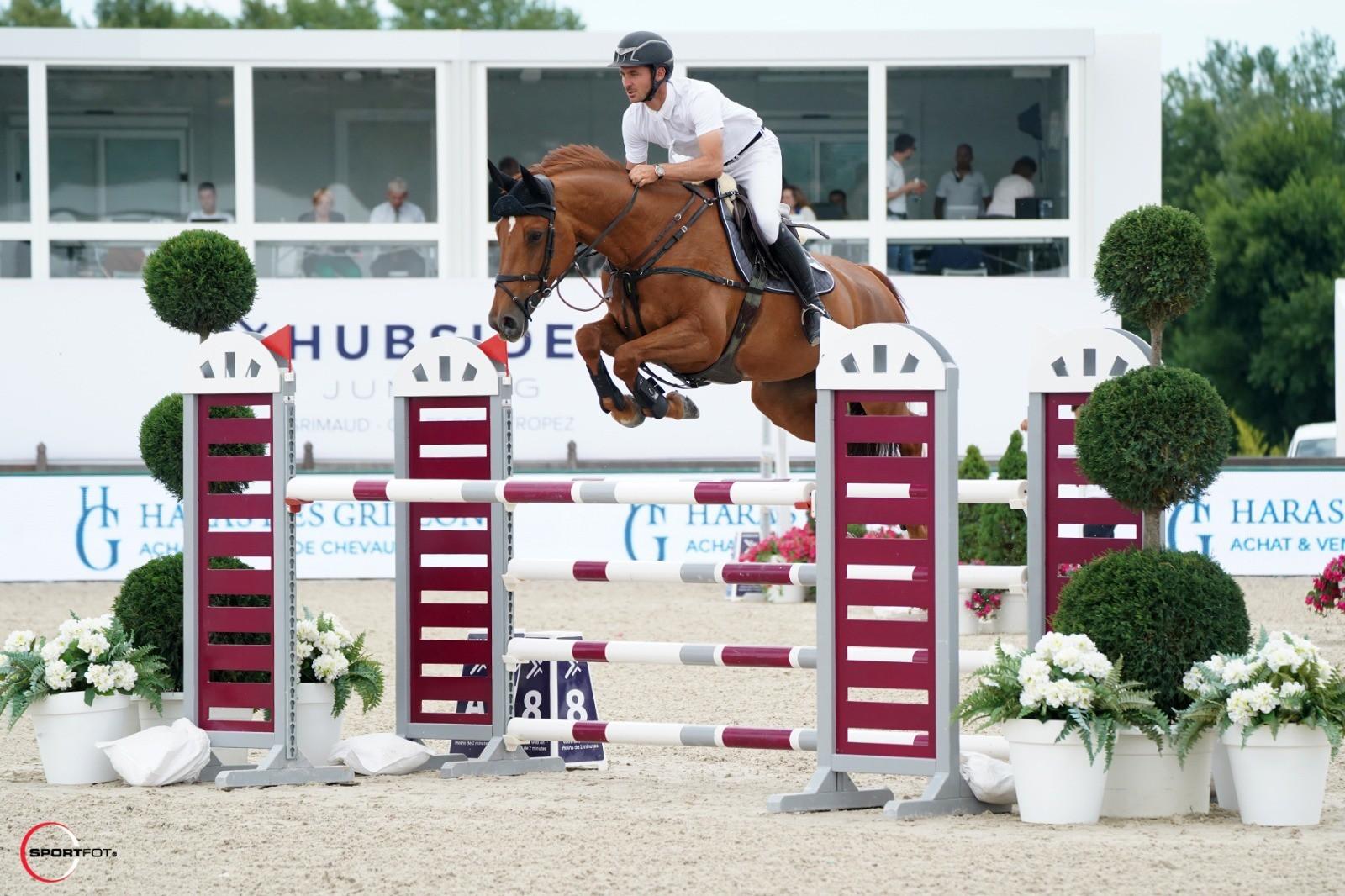 Uranie de Belcour - Steve Guerdat, swiss rider in jumping ...